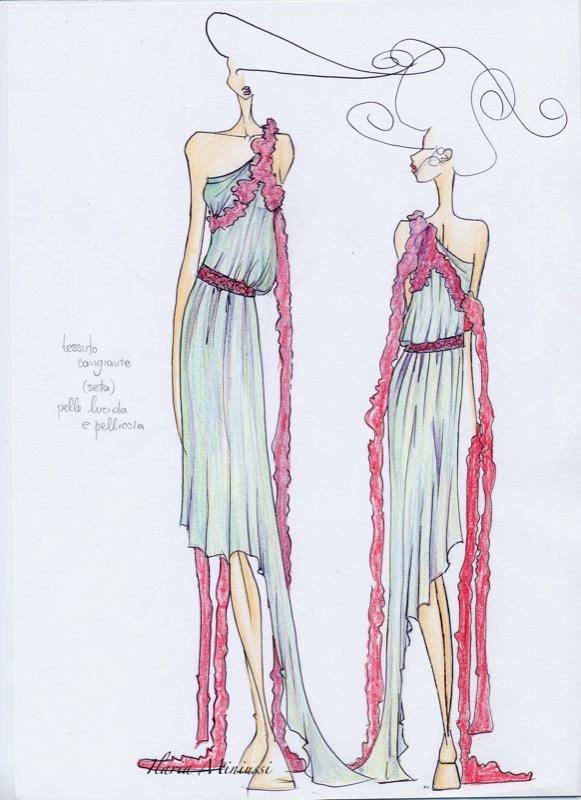 Favorito Disegnare Bozzetti Di Moda HR65 » Regardsdefemmes LD96